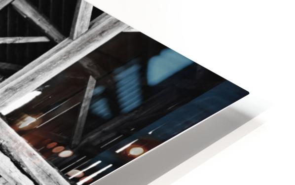 Barn Steps HD Sublimation Metal print