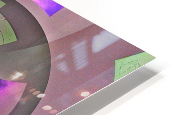 Mirror Infinity Lilac HD Sublimation Metal print