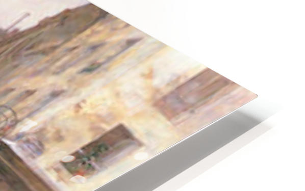 Rue Bonaparte by Hassam HD Sublimation Metal print