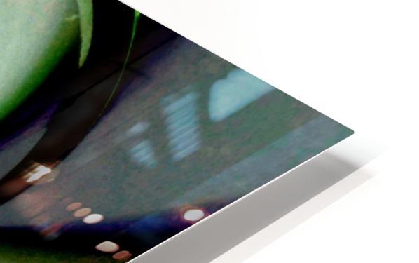 Broken Symmetry Teal HD Sublimation Metal print