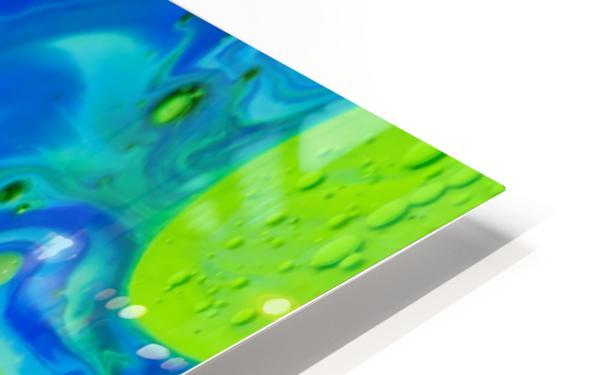 Art Swirls HD Sublimation Metal print