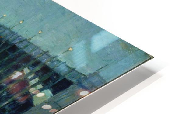 Spring Night Harlem River HD Sublimation Metal print
