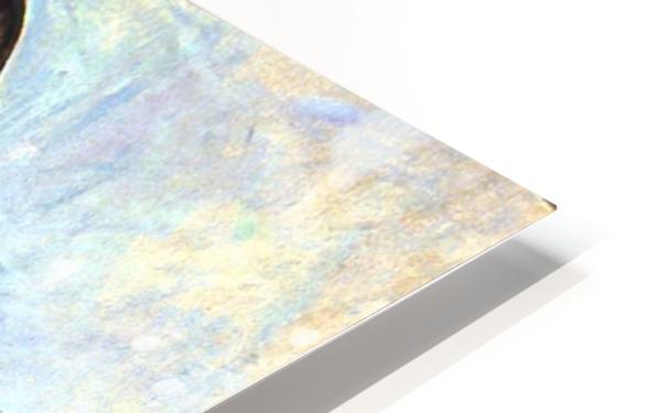 Midfull lady HD Sublimation Metal print
