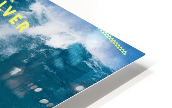 2017 QUIKSILVER - EDDIE AIKAU Big Wave Invitational Surfing Competition Print HD Sublimation Metal print