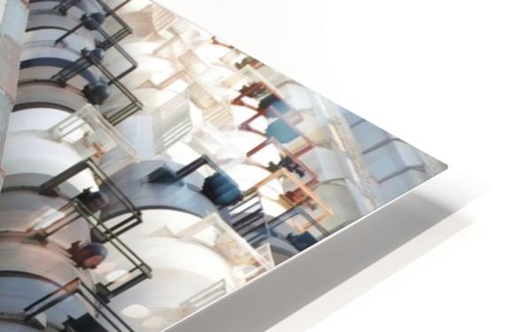 The Rail Yard - HDR HD Sublimation Metal print