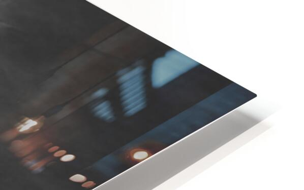 South Nashua Silhouette HD Sublimation Metal print