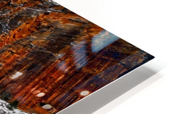 Zion National Park 1 HD Sublimation Metal print