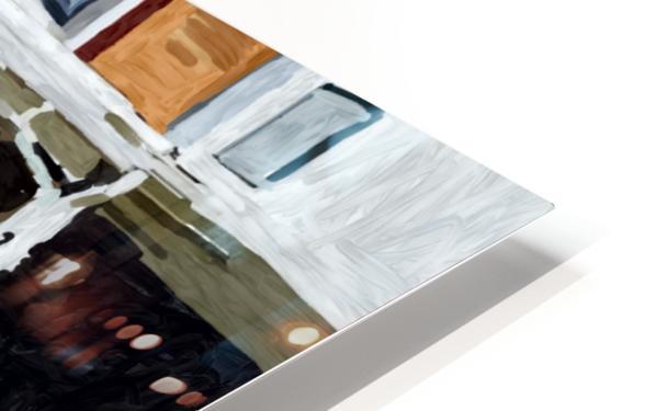 Hampden Rowhouse HD Sublimation Metal print