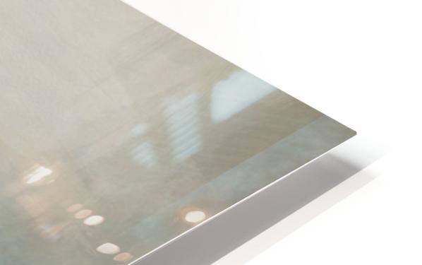 Lapis Blue Landscape HD Sublimation Metal print