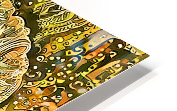 Fanciful Floral HD Sublimation Metal print