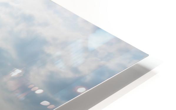 Bright sky in Tuktoyaktuk HD Sublimation Metal print