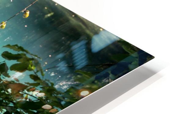 Au fil de leau HD Sublimation Metal print