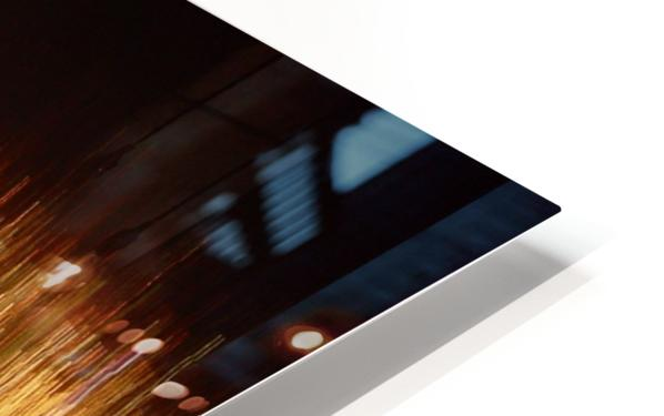 Blurred City HD Sublimation Metal print