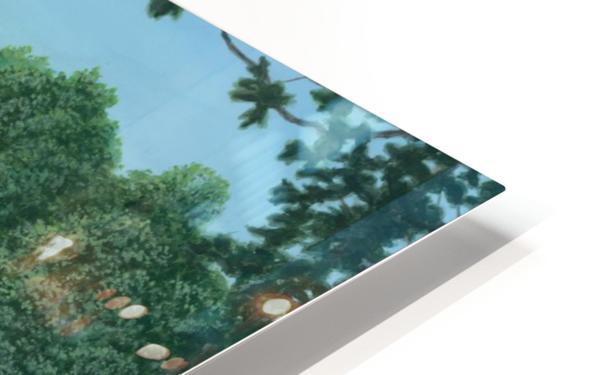 Stone Piers Housatonic River - Newtown Scenes 18 X 24  HD Sublimation Metal print