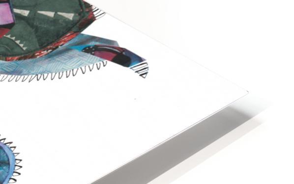 Herero Woman 3 HD Sublimation Metal print