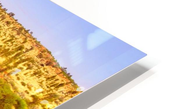 Dune Landscape - Central Australia HD Sublimation Metal print