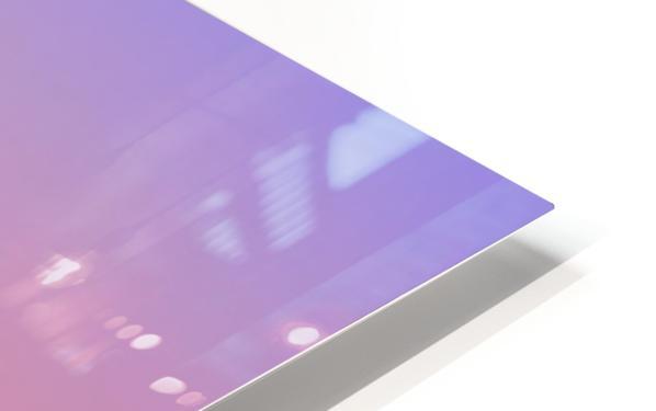 Twin Reflections - Pamamaroo Lake HD Sublimation Metal print