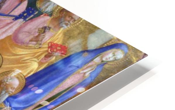 The Virgin Mary with the Apostles and Saints HD Sublimation Metal print