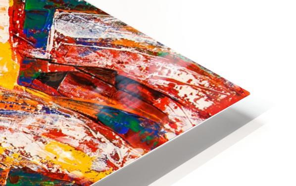 FLOW OF DREAMS_7 - 18x18 HD Sublimation Metal print