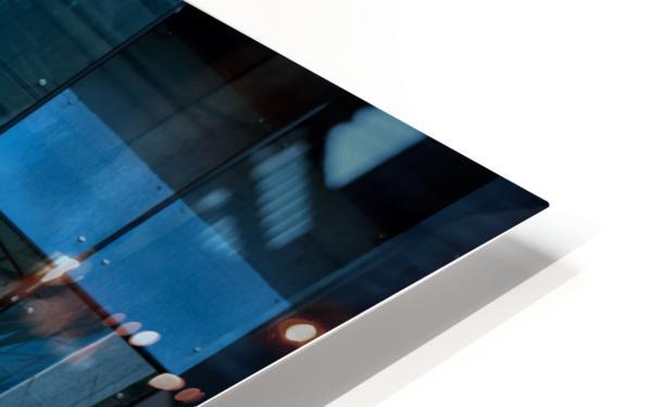 Blue Mirrors HD Sublimation Metal print