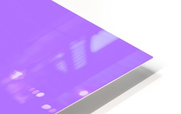 Happy Galah - Purple HD Sublimation Metal print