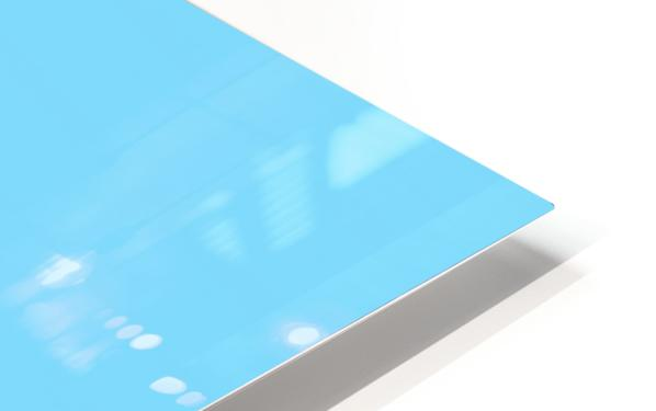 Happy Galah - Blue HD Sublimation Metal print