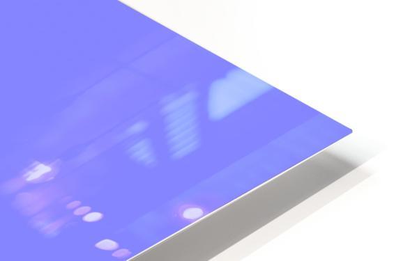 NO Fishing - Blue HD Sublimation Metal print