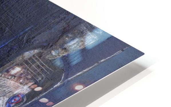 Blue Horserider 1 HD Sublimation Metal print