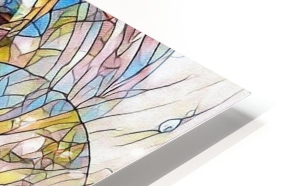 Mosaic Fractal HD Sublimation Metal print