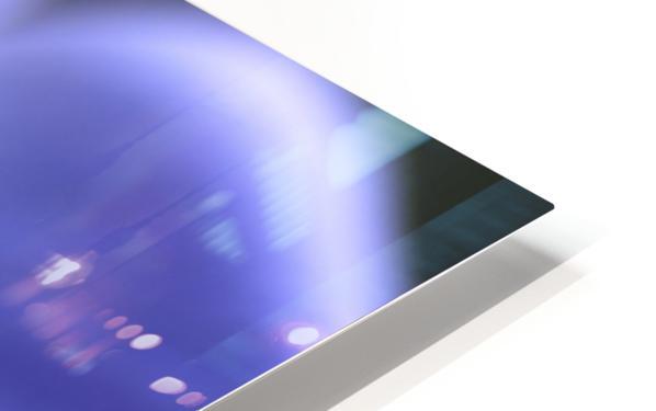 Blue Anemone HD Sublimation Metal print