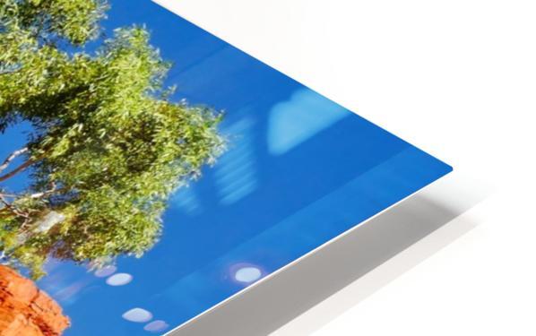 Ormiston Gorge Landscape HD Sublimation Metal print