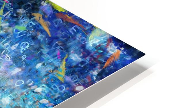 Abstract Canvas HD Sublimation Metal print