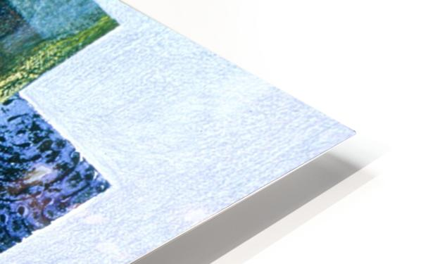 masque de lamour HD Sublimation Metal print