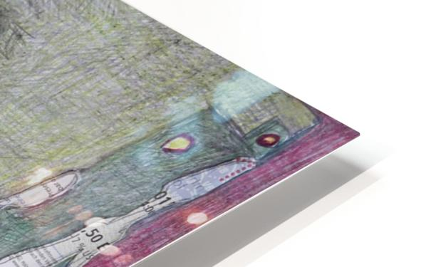 le masque 3 HD Sublimation Metal print