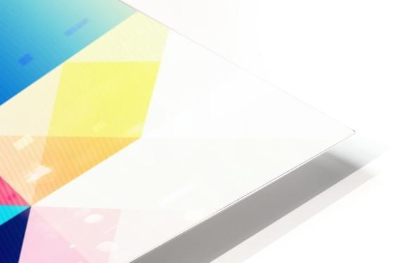 Geometric XXXXXV HD Sublimation Metal print