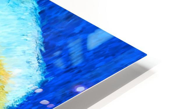 Floating Rose HD Sublimation Metal print