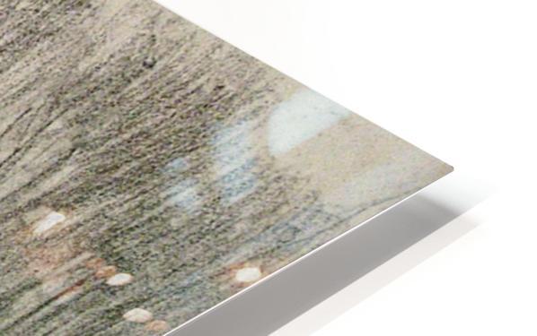 The Charcoal Burner's Hut HD Sublimation Metal print