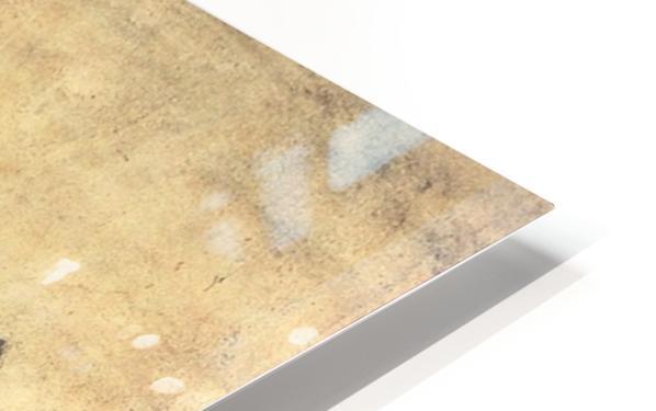 Le repas des moissonneurs ou ruth et booz HD Sublimation Metal print