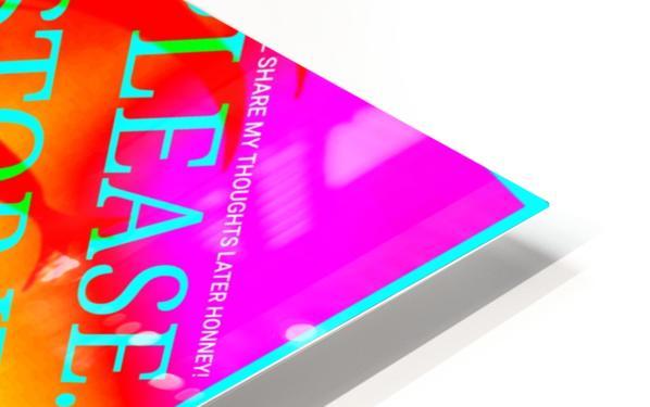 Collagène  HD Sublimation Metal print