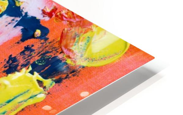Abstract painting HD Sublimation Metal print