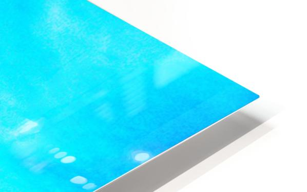 Lines HD Sublimation Metal print