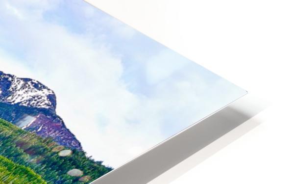 Hyalite HD Sublimation Metal print