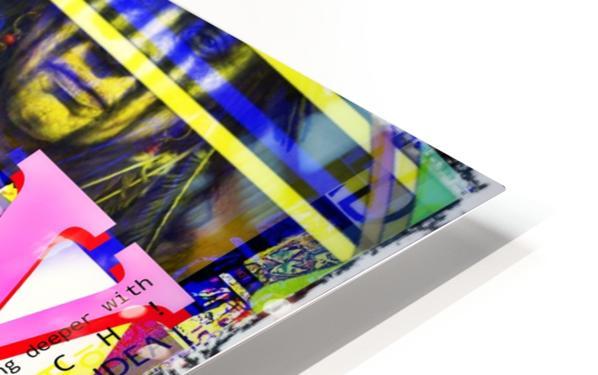 MY LEGENDARY VINTAGE POSTER HD Sublimation Metal print