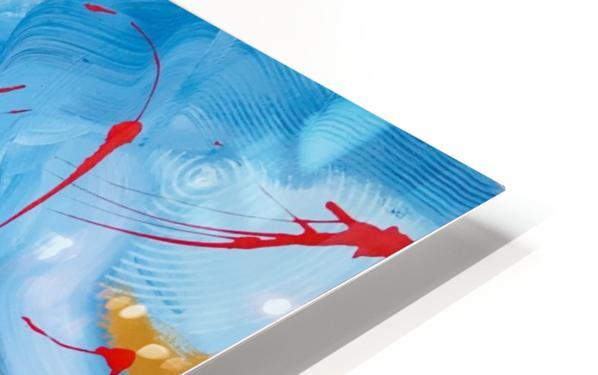 CONTEMPLATION HD Sublimation Metal print