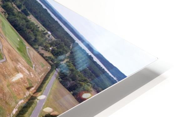 Arcadia Bluffs South Course back nine Par 5s HD Sublimation Metal print