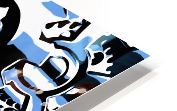 Gears HD Sublimation Metal print