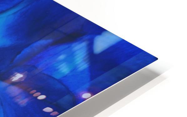 Blue Rose    HD Sublimation Metal print
