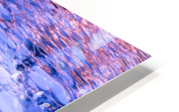 Abraham Lake Bubbles HD Sublimation Metal print