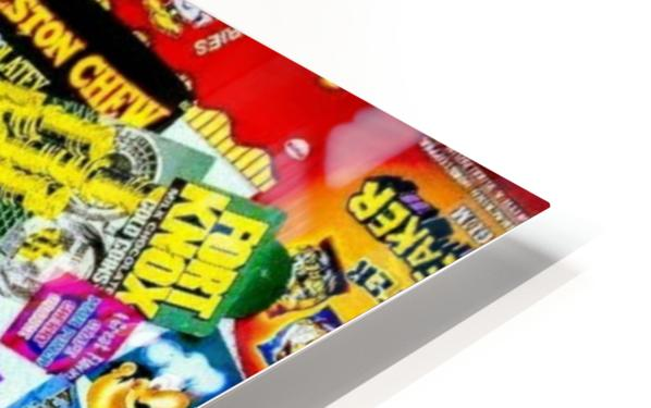 candy wrapper madness HD Sublimation Metal print