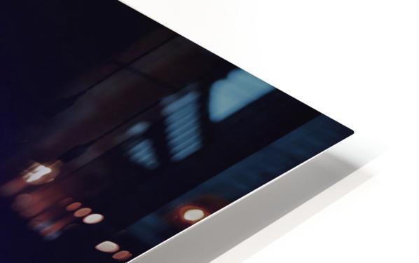 Blue Sparkle HD Sublimation Metal print